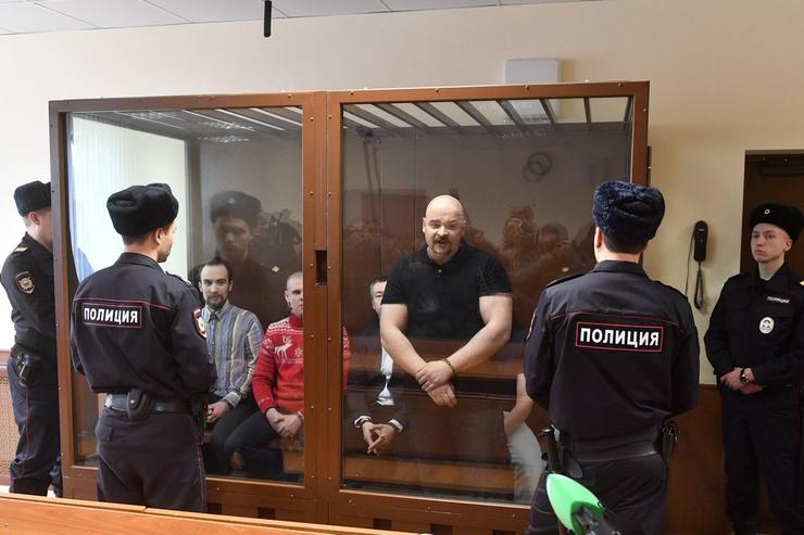 Максим Марцинкевич в зале суда
