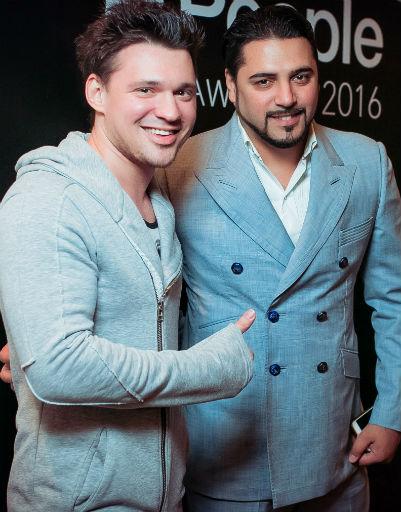 Алексей Кабанов и Александр Бердников
