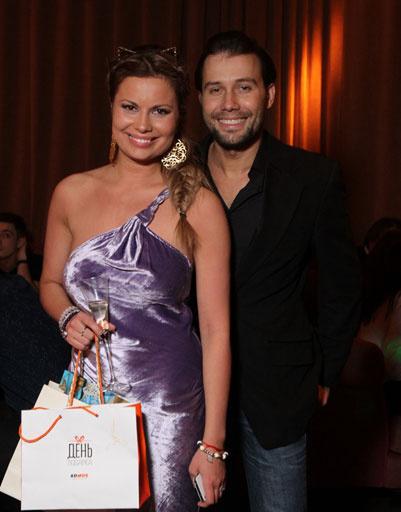 Анастасия Осипова с одним из гостей