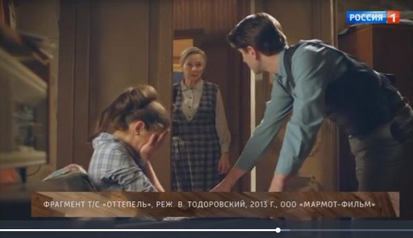 На момент работы над картиной «Оттепель» Лариса Ивановна была больна раком