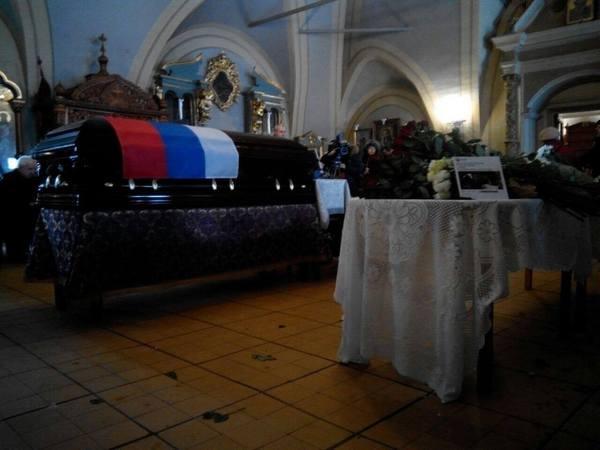 Тело Елизаветы Глинки находится в закрытом гробе
