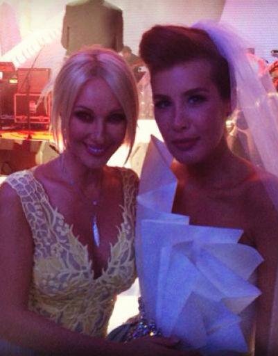 Лера Кудрявцеа с размахом вышла замуж этим летом