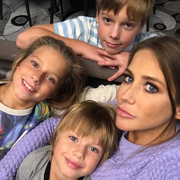 От Аршавина у Барановской трое детей