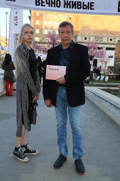 Анна Мария Ефремова часто появлялась на светских мероприятиях с отцом