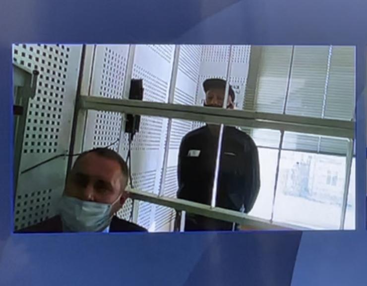 Ефремов выступил в суде по видеосвязи из колонии