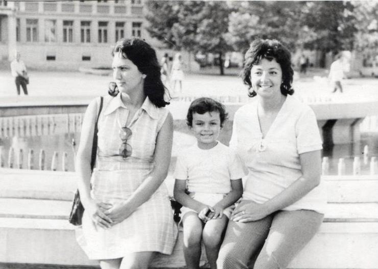 Филипп Киркоров с мамой и тетей Мари