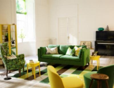 Модный дом: Сочные цвета украсят интерьер