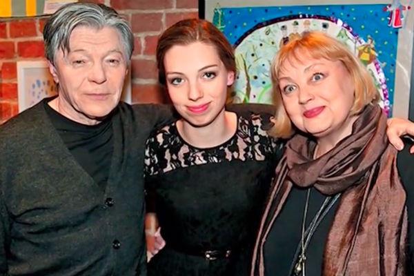 Александр Збруев, Татьяна Збруева и Елена Шанина