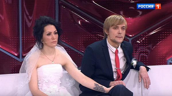 Сергей Зверев-младший с нынешней женой Юлией