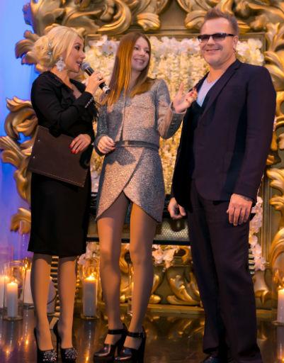Лера Кудрявцева, Наталья Подольская и Владимир Пресняков