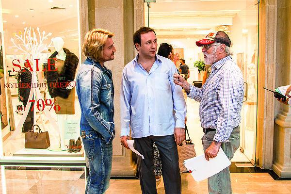 С актерами Басков познакомился на площадке