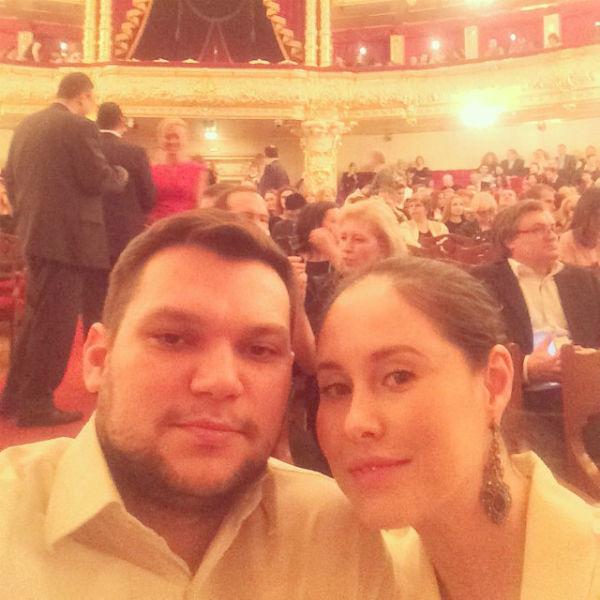Илана Юрьева с мужем Дмитрием Дылдиным