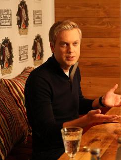 Сергей Светлаков на открытии ресторана ESHAK