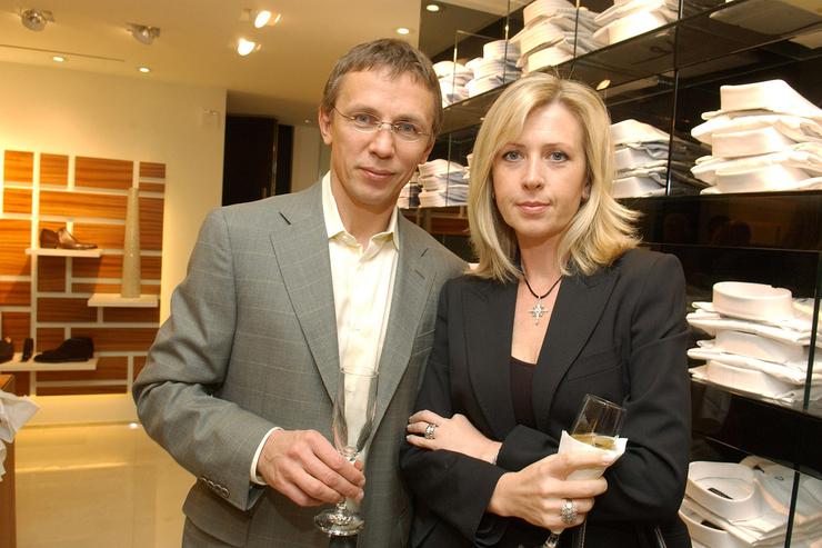 Игорь Ларионов женился на фигуристке Елене Батановой