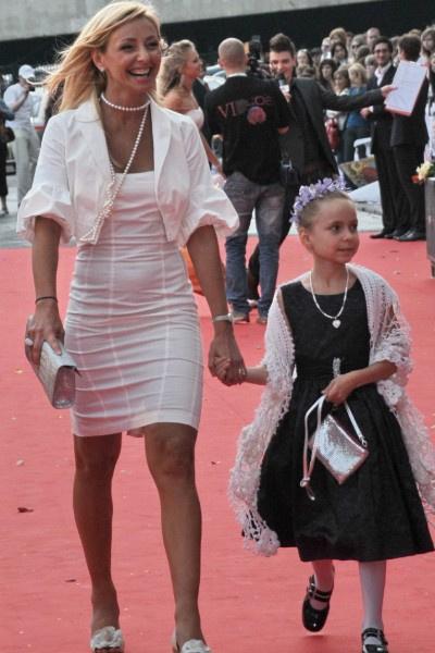 Татьяна Навка растит дочь от Дмитрия Пескова
