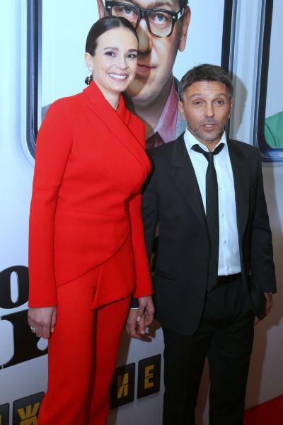 Актер с гражданской супругой Анной Моисеевой