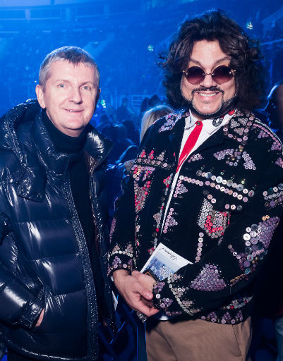 Юрий Аксюта и Филипп Киркоров