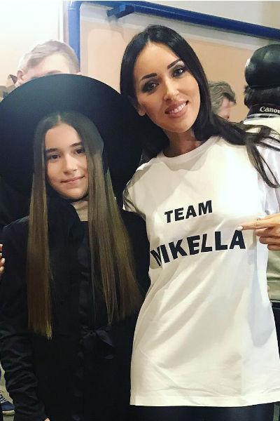 Алсу поддерживала дочь на протяжении всего конкурса