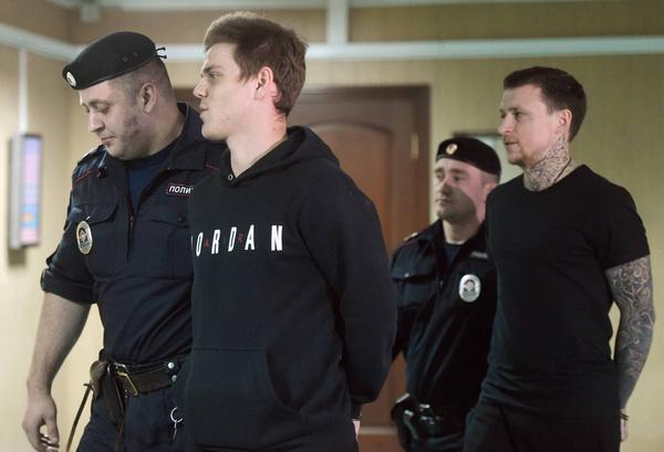 Александр Кокорин и Павел Мамаев раньше часто любили проводить время вместе