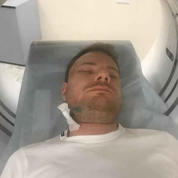 DJ Smash проверяют в медицинском центре