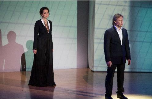 Ольга Кабо и Дмитрий Харатьян