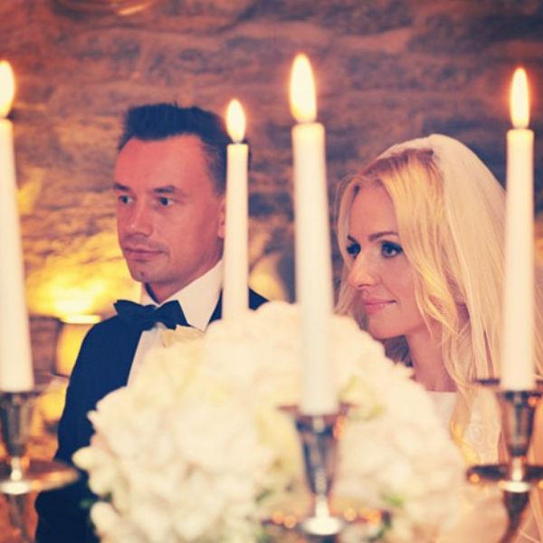 Алексей и Ирина поженились лишь полтора года назад. Их свадьба состоялась в Таллине.