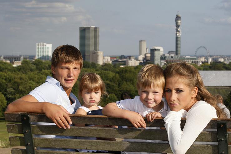 Аршавин ушел от Барановской, когда она была беременна третьим ребенком