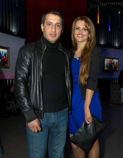 Супруги Арарат Кещян и Екатерина Шепета