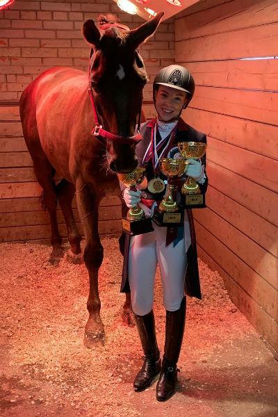 Елизавета гордится своими достижениями в спорте
