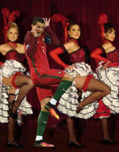 Пользователи соцсетей опубликовали фантазийный танец с участием Криштиану