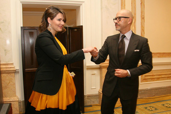 Мария Кожевникова и Федор Бондарчук