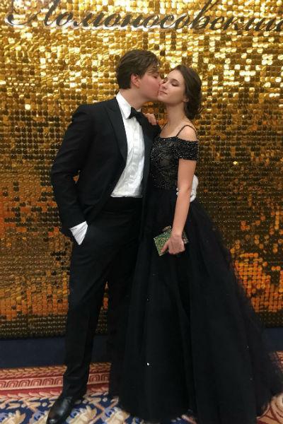 Пара дебютировала на Ломоносовском балу