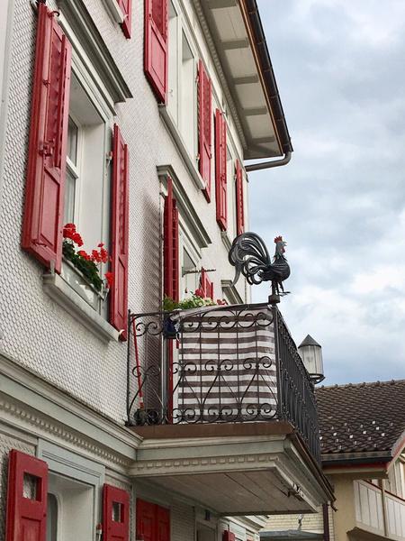 «Пряничные домики» в стиле Тюдоров и другие умилительные городские картинки — Аппенцель похож на сказку