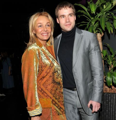 Наталья Андрейченко с сыном Дмитрием