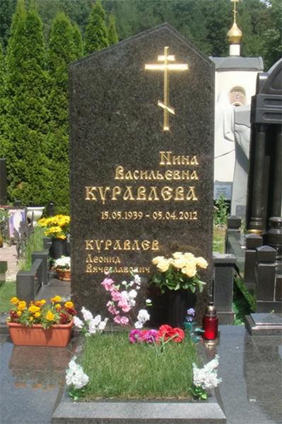 Куравлев уже выбрал место на Троекуровском кладбище