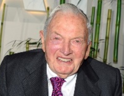Скончался миллиардер Дэвид Рокфеллер-старший