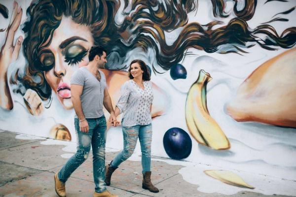 В свободное от учебы время Анфиса и Гурам гуляли и фотографировались