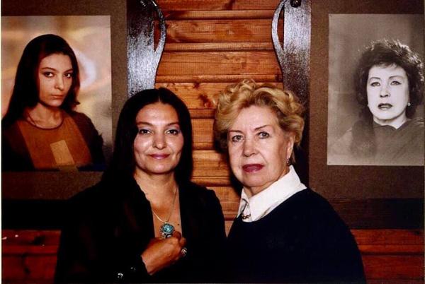 Инна Макарова с дочерью Натальей