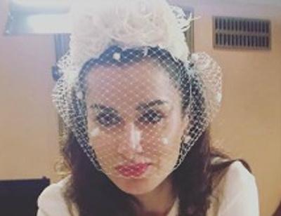 Тина Канделаки принимает поздравления с замужеством