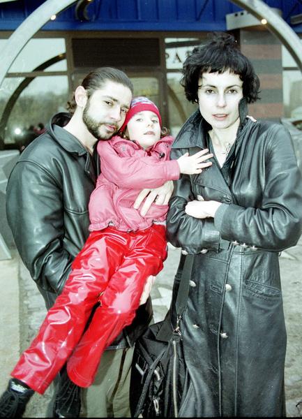 Ирина и Валерий с дочерью Дарьей