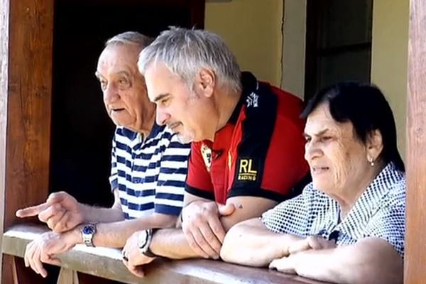 Валерий Меладзе с родителями - папой Шотой и мамой Ниной