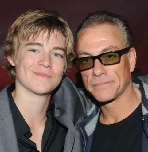 Актер с сыном Николасом