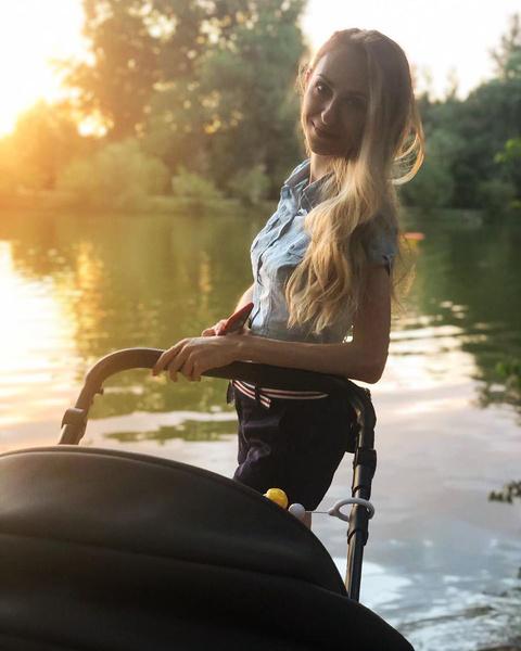 Екатерина родила сына в августе 2018 года