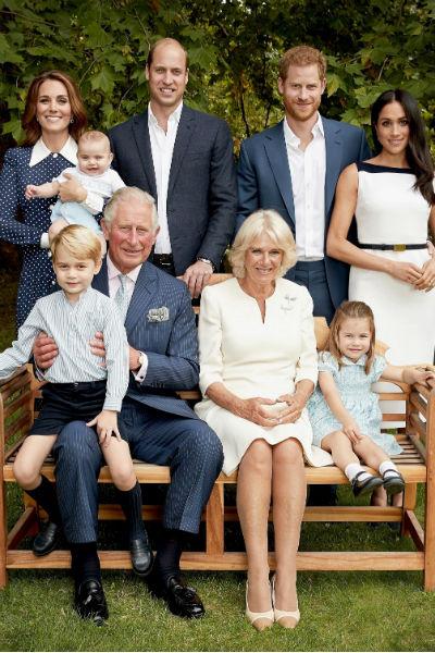 Количество членов королевской семьи стремительно увеличивается