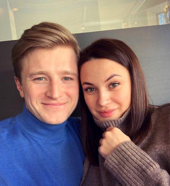 Вячеслав с супругой