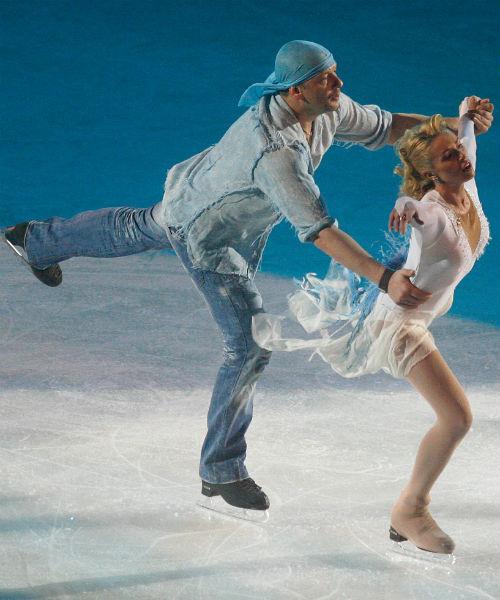 Ирина участвовала с актером в проекте «Ледниковый период»
