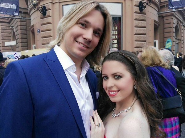 Олег Лоза с женой Ханной