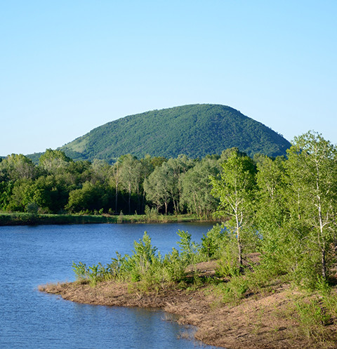 Гора Куштау