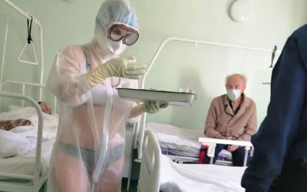 Образ медсестры в местном Минздраве не оценили