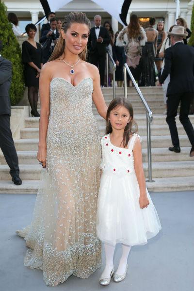 Виктория Боня с дочкой Анджелиной-Летицией